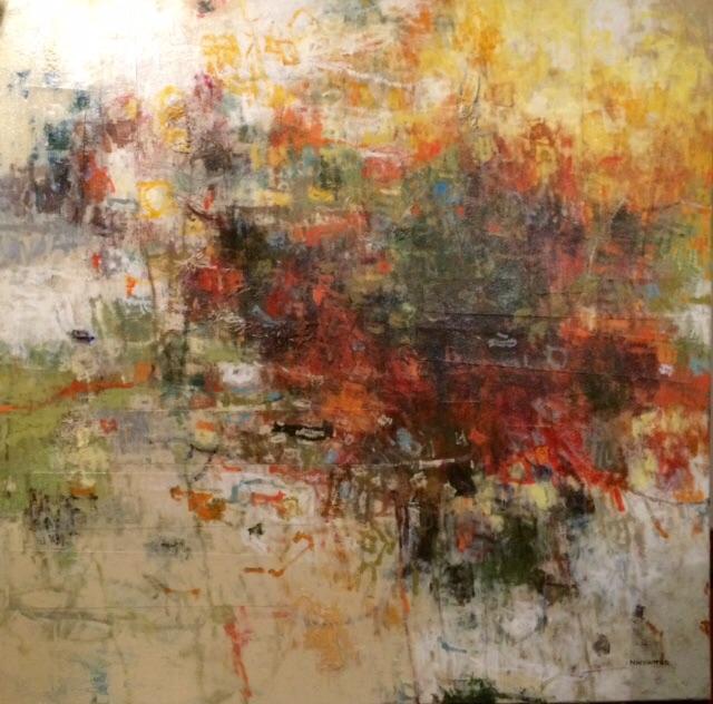 'The Burning Bush' Original Artwork by Norman Wyatt, Jr.