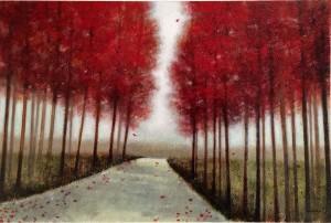 """""""October Road"""" Original By Norman Wyatt, Jr."""