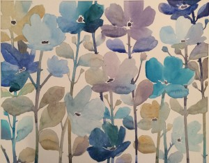 Water Color Florals by Artist Norman Wyatt, Jr.