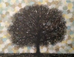 """November Pearls"" original artwork by Norman Wyatt, Jr."