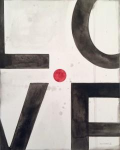 """""""Is This Love"""" original artwork by Norman Wyatt, Jr."""
