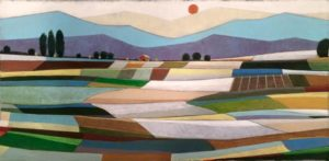 """Fertile Acres"", Original Artwork by Norman Wyatt, Jr."