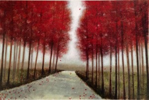 """October Road"" Original By Norman Wyatt, Jr."